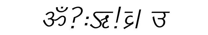 DV_Divyae Italic Font OTHER CHARS