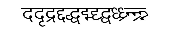 DV_Divyae Normal Font LOWERCASE