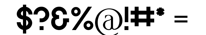 dvcc Font OTHER CHARS