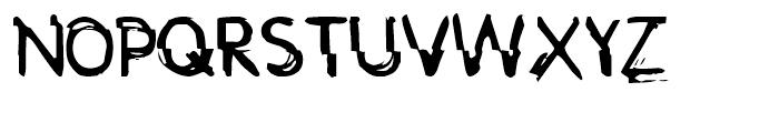 DV 9 Font UPPERCASE