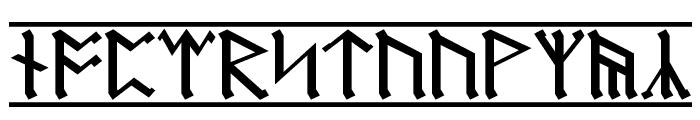 Dwarf Runes 1 Font LOWERCASE