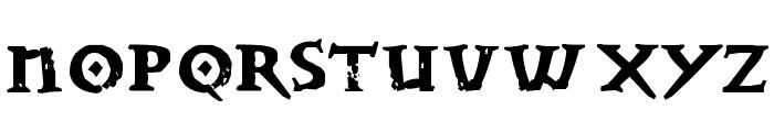 Dwarven Stonecraft Font UPPERCASE