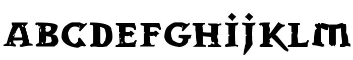 Dwarven Stonecraft Font LOWERCASE