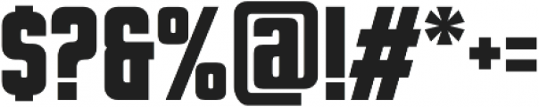 Dynamo otf (700) Font OTHER CHARS