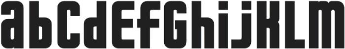 Dynamo otf (700) Font LOWERCASE