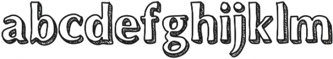 Dynasty ttf (400) Font LOWERCASE