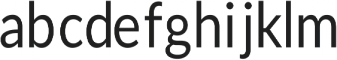 Dystopia Regular ttf (400) Font LOWERCASE