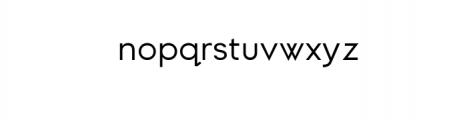 DylanGothic-Regular.ttf Font LOWERCASE