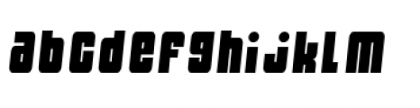 Dynomite Spark Thin Font LOWERCASE