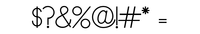 Dyane Regular Font OTHER CHARS