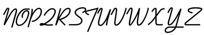 DymaxionScript Font UPPERCASE