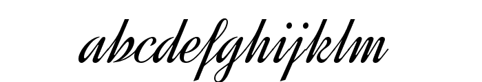 Dynalight Font LOWERCASE