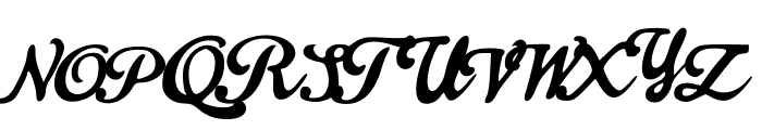 Dynamic Font UPPERCASE