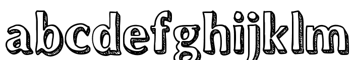 Dynasty Font LOWERCASE