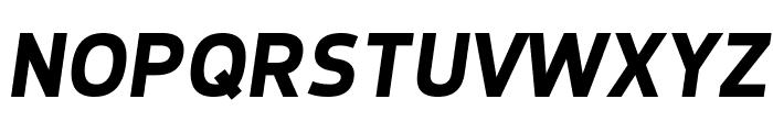 Dyno Bold Italic Font UPPERCASE