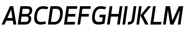 Dyno Italic Font UPPERCASE