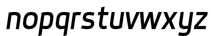 Dyno Italic Font LOWERCASE
