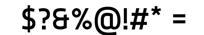Dyno Regular Font OTHER CHARS