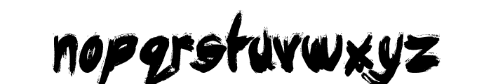 Dysfunctional Family Font LOWERCASE