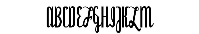 Dyspepsia Font UPPERCASE