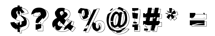 Dystopia Font OTHER CHARS