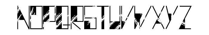 DystopiaRegular Font UPPERCASE