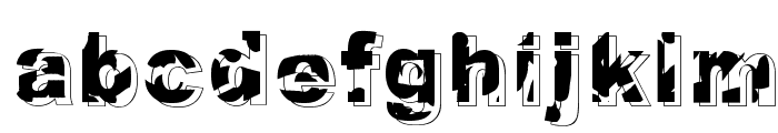 Dystopia Font LOWERCASE