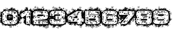 Dystopian Future Font OTHER CHARS