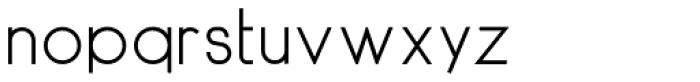 DyeLine Font LOWERCASE