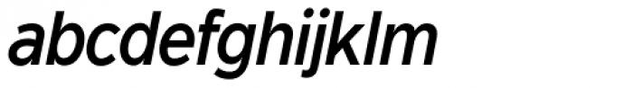 Dylan Condensed Medium Italic Font LOWERCASE