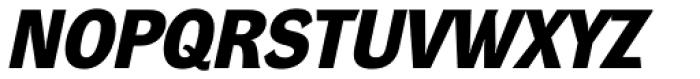 DynaGrotesk D Bold Italic Font UPPERCASE