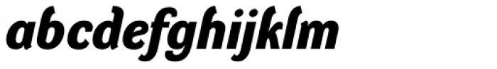 DynaGrotesk D Bold Italic Font LOWERCASE