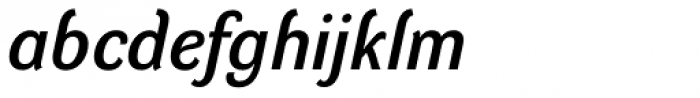 DynaGrotesk D Italic Font LOWERCASE