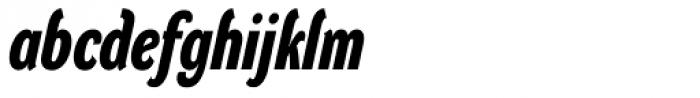 DynaGrotesk DC Bold Italic Font LOWERCASE
