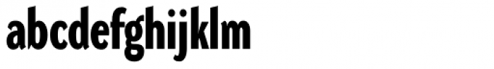 DynaGrotesk DC Bold Font LOWERCASE