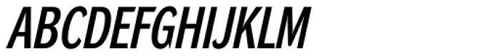 DynaGrotesk DC Italic Font UPPERCASE