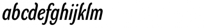 DynaGrotesk DC Italic Font LOWERCASE