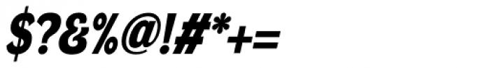 DynaGrotesk DM Bold Italic Font OTHER CHARS