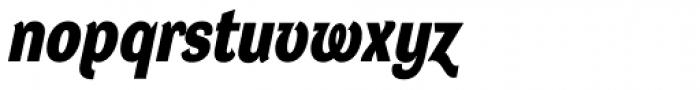 DynaGrotesk DM Bold Italic Font LOWERCASE