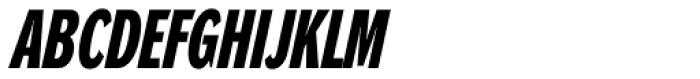 DynaGrotesk DXC Bold Italic Font UPPERCASE