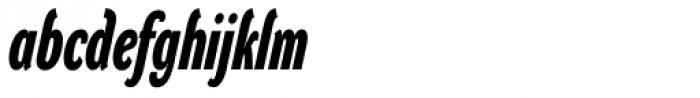 DynaGrotesk DXC Bold Italic Font LOWERCASE