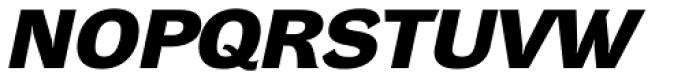 DynaGrotesk DXE Bold Italic Font UPPERCASE