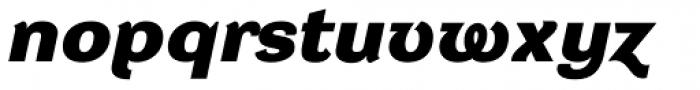 DynaGrotesk DXE Bold Italic Font LOWERCASE