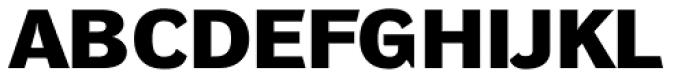 DynaGrotesk DXE Bold Font UPPERCASE