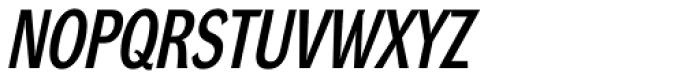 DynaGrotesk LC Bold Italic Font UPPERCASE