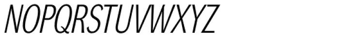 DynaGrotesk LC Italic Font UPPERCASE
