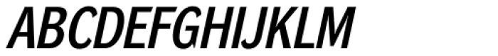 DynaGrotesk LM Bold Italic Font UPPERCASE
