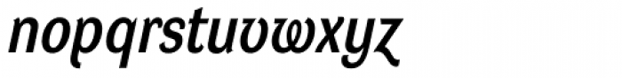 DynaGrotesk LM Bold Italic Font LOWERCASE