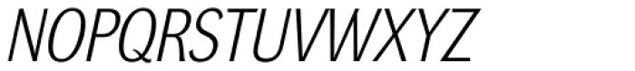 DynaGrotesk LM Italic Font UPPERCASE