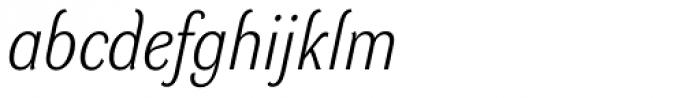 DynaGrotesk LM Italic Font LOWERCASE